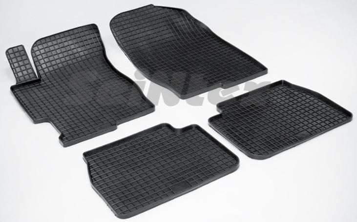 SeinTex 00194 для Mazda 6 (2002-2008)Mazda<br>типа сетка - изготовление из специальной резины, не имеют запаха, идеальное повторение контуров салона, морозостойкость, гарантия - 3 года. На данные коврики нанесен узор сетка, который помогает удерживать пыль, грязь, воду. Коврики выполнены из высококачественных материалов, которые обеспечивают высокую износостойкость и долговечность аксессуаров. Содержание синтетического каучука равно 40 процентам, а остальные 60 - это специальные добавки, предназначенные для повышения прочности, эластичности и устойчивости к внешним воздействиям. Использование специальных импортных компонентов позволило избежать наличия неприятного запаха. Материал, из которого изготовлены аксессуары, имеет неоспоримые преимущества перед полиуретаном, который является более бюджетным материалом и резиной, имеющей неприятный запах. Коврики предельно просты в эксплуатации и уходе. Специальный дизайн ковриков позволяет им идеально подходить под контуры пола автомобиля.<br>