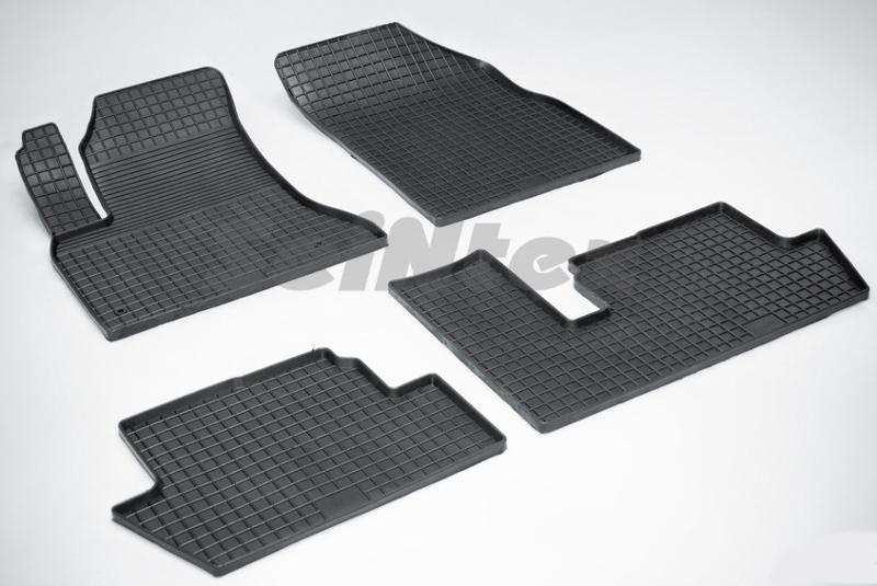 SeinTex 00612 для Citroen C4 Picasso (2007-н.в.)Citroen<br>типа сетка - изготовление из специальной резины, не имеют запаха, идеальное повторение контуров салона, морозостойкость, гарантия - 3 года. На данные коврики нанесен узор сетка, который помогает удерживать пыль, грязь, воду. Коврики выполнены из высококачественных материалов, которые обеспечивают высокую износостойкость и долговечность аксессуаров. Содержание синтетического каучука равно 40 процентам, а остальные 60 - это специальные добавки, предназначенные для повышения прочности, эластичности и устойчивости к внешним воздействиям. Использование специальных импортных компонентов позволило избежать наличия неприятного запаха. Материал, из которого изготовлены аксессуары, имеет неоспоримые преимущества перед полиуретаном, который является более бюджетным материалом и резиной, имеющей неприятный запах. Коврики предельно просты в эксплуатации и уходе. Специальный дизайн ковриков позволяет им идеально подходить под контуры пола автомобиля.<br>