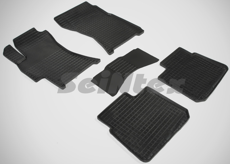 SeinTex 00665 для Subaru Outback (2006-н.в.)Subaru<br>типа сетка - изготовление из специальной резины, не имеют запаха, идеальное повторение контуров салона, морозостойкость, гарантия - 3 года. На данные коврики нанесен узор сетка, который помогает удерживать пыль, грязь, воду. Коврики выполнены из высококачественных материалов, которые обеспечивают высокую износостойкость и долговечность аксессуаров. Содержание синтетического каучука равно 40 процентам, а остальные 60 - это специальные добавки, предназначенные для повышения прочности, эластичности и устойчивости к внешним воздействиям. Использование специальных импортных компонентов позволило избежать наличия неприятного запаха. Материал, из которого изготовлены аксессуары, имеет неоспоримые преимущества перед полиуретаном, который является более бюджетным материалом и резиной, имеющей неприятный запах. Коврики предельно просты в эксплуатации и уходе. Специальный дизайн ковриков позволяет им идеально подходить под контуры пола автомобиля.<br>