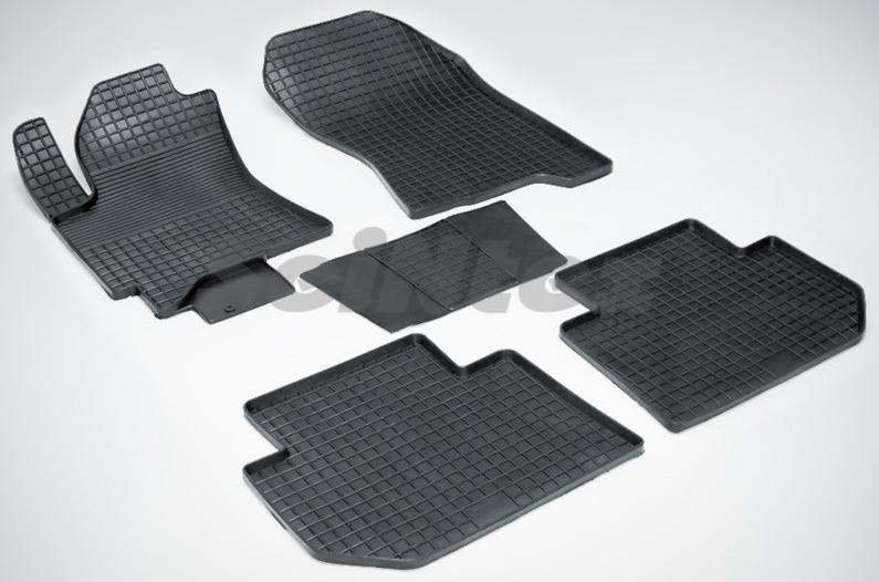 SeinTex 00671 для Subaru Tribeca (B9) (2005-н.в.Subaru<br>типа сетка - изготовление из специальной резины, не имеют запаха, идеальное повторение контуров салона, морозостойкость, гарантия - 3 года. На данные коврики нанесен узор сетка, который помогает удерживать пыль, грязь, воду. Коврики выполнены из высококачественных материалов, которые обеспечивают высокую износостойкость и долговечность аксессуаров. Содержание синтетического каучука равно 40 процентам, а остальные 60 - это специальные добавки, предназначенные для повышения прочности, эластичности и устойчивости к внешним воздействиям. Использование специальных импортных компонентов позволило избежать наличия неприятного запаха. Материал, из которого изготовлены аксессуары, имеет неоспоримые преимущества перед полиуретаном, который является более бюджетным материалом и резиной, имеющей неприятный запах. Коврики предельно просты в эксплуатации и уходе. Специальный дизайн ковриков позволяет им идеально подходить под контуры пола автомобиля.<br>