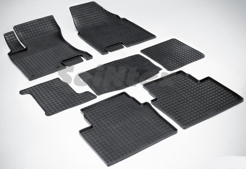 SeinTex 00832 для Nissan Qashqai+2 (2008-н.в.)Nissan<br>типа сетка - изготовление из специальной резины, не имеют запаха, идеальное повторение контуров салона, морозостойкость, гарантия - 3 года. На данные коврики нанесен узор сетка, который помогает удерживать пыль, грязь, воду. Коврики выполнены из высококачественных материалов, которые обеспечивают высокую износостойкость и долговечность аксессуаров. Содержание синтетического каучука равно 40 процентам, а остальные 60 - это специальные добавки, предназначенные для повышения прочности, эластичности и устойчивости к внешним воздействиям. Использование специальных импортных компонентов позволило избежать наличия неприятного запаха. Материал, из которого изготовлены аксессуары, имеет неоспоримые преимущества перед полиуретаном, который является более бюджетным материалом и резиной, имеющей неприятный запах. Коврики предельно просты в эксплуатации и уходе. Специальный дизайн ковриков позволяет им идеально подходить под контуры пола автомобиля.<br>