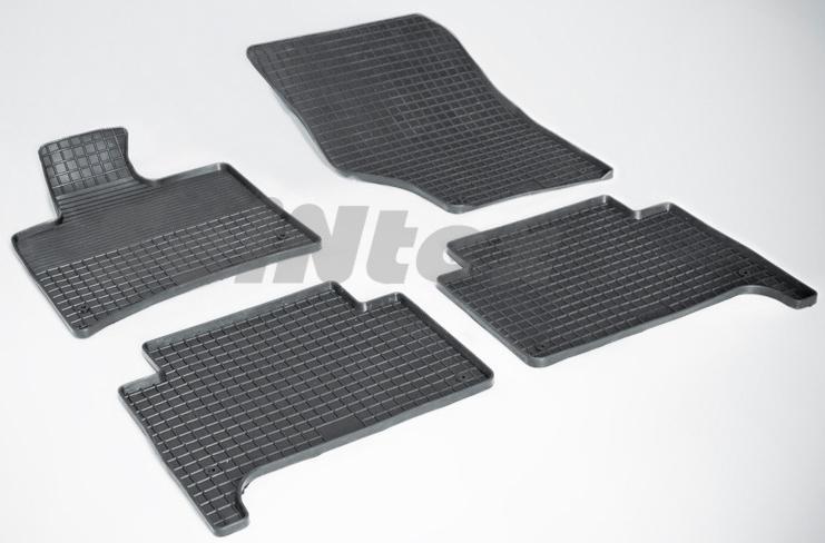 SeinTex Seintex 00844 для Audi Q7 (2005-н.в.)Audi<br>типа сетка - изготовление из специальной резины, не имеют запаха, идеальное повторение контуров салона, морозостойкость, гарантия - 3 года. На данные коврики нанесен узор сетка, который помогает удерживать пыль, грязь, воду. Коврики выполнены из высококачественных материалов, которые обеспечивают высокую износостойкость и долговечность аксессуаров. Содержание синтетического каучука равно 40 процентам, а остальные 60 - это специальные добавки, предназначенные для повышения прочности, эластичности и устойчивости к внешним воздействиям. Использование специальных импортных компонентов позволило избежать наличия неприятного запаха. Материал, из которого изготовлены аксессуары, имеет неоспоримые преимущества перед полиуретаном, который является более бюджетным материалом и резиной, имеющей неприятный запах. Коврики предельно просты в эксплуатации и уходе. Специальный дизайн ковриков позволяет им идеально подходить под контуры пола автомобиля.<br>