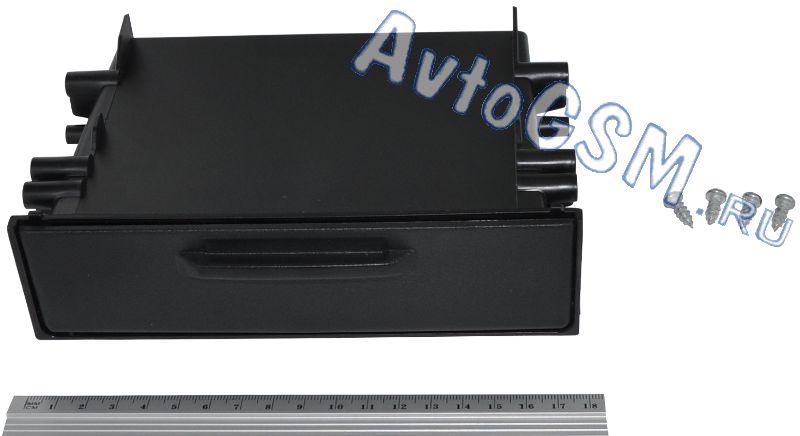 CARAV 11-1551DIN<br>универсальная - пластик ABS, черный цвет, карман, крышка. Carav 11-155 - это автомобильная монтажная рамка черного цвета. 11-155 выполнена из пластика ABS. Переходная рамка предназначена для установки автомагнитолы стандартного размера 1-DIN вместо штатного головного устройства. Габаритные размеры Carav 11-155 примерно равны 18х12.7х4.9 см (max). Также стоит сказать о том, что данная рамка имеет карман и крышку.<br>
