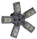 Двухконтактная светодиодная лампа  SHO-ME 5715-S/white