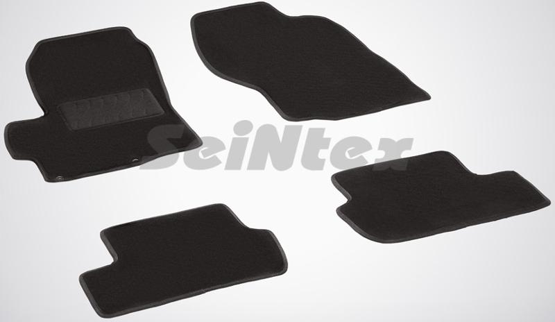 SeinTex 82269 для Mitsubishi Lancer X (2007-н.в.Mitsubishi<br>- резиновое основание, привлекательный внешний вид, идеальное повторение контуров. Ворсовые коврики LUX от Seintex могут стать идеальным выбором для автовладельцев, которые ценят не только практичность, но и привлекательный внешний вид аксессуаров. Данные коврики имеют резиновую основу, которая не пропускает влагу, а ворсовая часть обеспечивает презентабельный внешний вид аксессуаров. Данные коврики ориентированы на автомобили бизнес-класса и выполнены в универсальном черном цвете. Коврик, предназначенный для водительской стороны, имеет усиленную зону для ног, которая обеспечивает дополнительную прочность и износостойкость. Для того, чтобы коврики надежно прилегали к напольному покрытию и не скользили, их оборудовали специальными шипами с обратной стороны.<br>