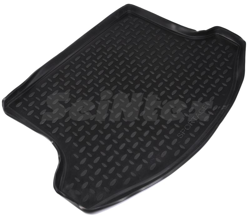 SeinTex 82317 для Kia Sportage new (2010-н.в.)KIA<br>из полимерного материала - долговечность, противоскользящая поверхность, морозостойкость, привлекательный внешний вид, высота борта - 3,5 см. Коврик изготовлен из полимерного материала, который устойчив к минусовым температурам и отличается долговечностью. Такой коврик надежно защитит покрытие багажника от грязи, влаги, повреждений. Коврик легко очищается, что позволяет существенно сэкономить время при уборке. Коврик имеет привлекательный внешний вид, его поверхность не скользит, а также аксессуар плотно прилегает к напольному покрытию.<br>