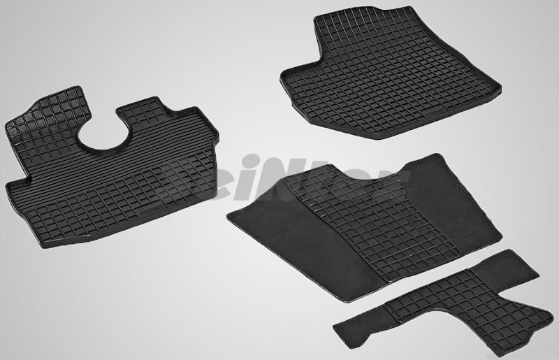 SeinTex 84168 для Hyundai Porter II (2007-н.в.)Hyundai<br>типа сетка - изготовление из специальной резины, не имеют запаха, идеальное повторение контуров салона, морозостойкость, гарантия - 3 года. На данные коврики нанесен узор сетка, который помогает удерживать пыль, грязь, воду. Коврики выполнены из высококачественных материалов, которые обеспечивают высокую износостойкость и долговечность аксессуаров. Содержание синтетического каучука равно 40 процентам, а остальные 60 - это специальные добавки, предназначенные для повышения прочности, эластичности и устойчивости к внешним воздействиям. Использование специальных импортных компонентов позволило избежать наличия неприятного запаха. Материал, из которого изготовлены аксессуары, имеет неоспоримые преимущества перед полиуретаном, который является более бюджетным материалом и резиной, имеющей неприятный запах. Коврики предельно просты в эксплуатации и уходе. Специальный дизайн ковриков позволяет им идеально подходить под контуры пола автомобиля.<br>
