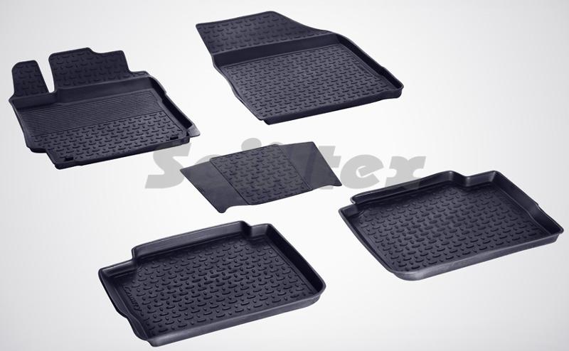 SeinTex 84792 для Toyota Camry VII (2012-н.в.)Toyota<br>с высоким бортом - изготовление из специальной резины, не имеют запаха, шипы для надежной фиксации, идеальное повторение контуров салона, гарантия - 3 года. Рассматриваемые нами коврики оснащены высоким бортом, благодаря чему способны удерживать большое количество влаги и загрязнений, не позволяя ей распространяться по напольному покрытию. Отличительная особенность ковриков Seintex - это изготовление из высококачественных материалов, которые отличаются высокой износостойкостью, эластичностью. Кроме этого, данные коврики не имеют запаха и безопасны для аллергиков. Отличное сцепление с поверхностью обеспечивают шипы, расположенные на обратной стороне автоковриков. Высокое качество продукции и уверенность в долгой службе аксессуара компания-производитель подтверждает 3-летней гарантией.<br>