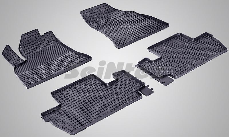 SeinTex 84921 для Peugeot 3008 (2009-н.в.)Peugeot<br>типа сетка - изготовление из специальной резины, не имеют запаха, идеальное повторение контуров салона, морозостойкость, гарантия - 3 года. На данные коврики нанесен узор сетка, который помогает удерживать пыль, грязь, воду. Коврики выполнены из высококачественных материалов, которые обеспечивают высокую износостойкость и долговечность аксессуаров. Содержание синтетического каучука равно 40 процентам, а остальные 60 - это специальные добавки, предназначенные для повышения прочности, эластичности и устойчивости к внешним воздействиям. Использование специальных импортных компонентов позволило избежать наличия неприятного запаха. Материал, из которого изготовлены аксессуары, имеет неоспоримые преимущества перед полиуретаном, который является более бюджетным материалом и резиной, имеющей неприятный запах. Коврики предельно просты в эксплуатации и уходе. Специальный дизайн ковриков позволяет им идеально подходить под контуры пола автомобиля.<br>