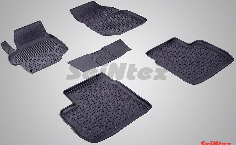 SeinTex 84923 для Peugeot 301 (2013-н.в.) и CitrCitroen<br>oen C-Elysse 2013-н.в. с высоким бортом - изготовление из специальной резины, не имеют запаха, шипы для надежной фиксации, идеальное повторение контуров салона, гарантия - 3 года. Рассматриваемые нами коврики оснащены высоким бортом, благодаря чему способны удерживать большое количество влаги и загрязнений, не позволяя ей распространяться по напольному покрытию. Отличительная особенность ковриков Seintex - это изготовление из высококачественных материалов, которые отличаются высокой износостойкостью, эластичностью. Кроме этого, данные коврики не имеют запаха и безопасны для аллергиков. Отличное сцепление с поверхностью обеспечивают шипы, расположенные на обратной стороне автоковриков. Высокое качество продукции и уверенность в долгой службе аксессуара компания-производитель подтверждает 3-летней гарантией.<br>