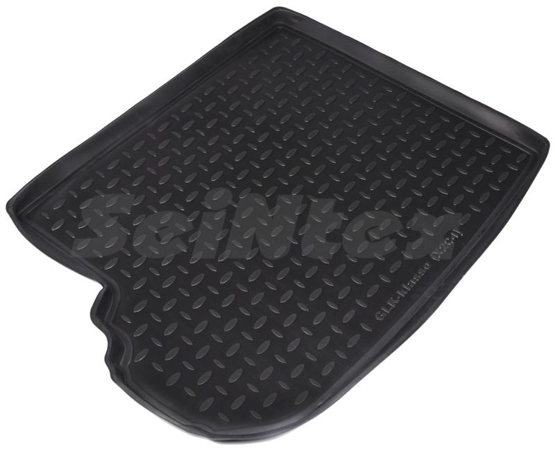 SeinTex 85046 для Mercedes GLK-Class X204 (2008-Mercedes<br>н.в. из полимерного материала - долговечность, противоскользящая поверхность, морозостойкость, привлекательный внешний вид, высота борта - 3,5 см  Внимание!!!! Распродажа. Коврик изготовлен из полимерного материала, который устойчив к минусовым температурам и отличается долговечностью. Такой коврик надежно защитит покрытие багажника от грязи, влаги, повреждений. Коврик легко очищается, что позволяет существенно сэкономить время при уборке. Коврик имеет привлекательный внешний вид, его поверхность не скользит, а также аксессуар плотно прилегает к напольному покрытию.<br>