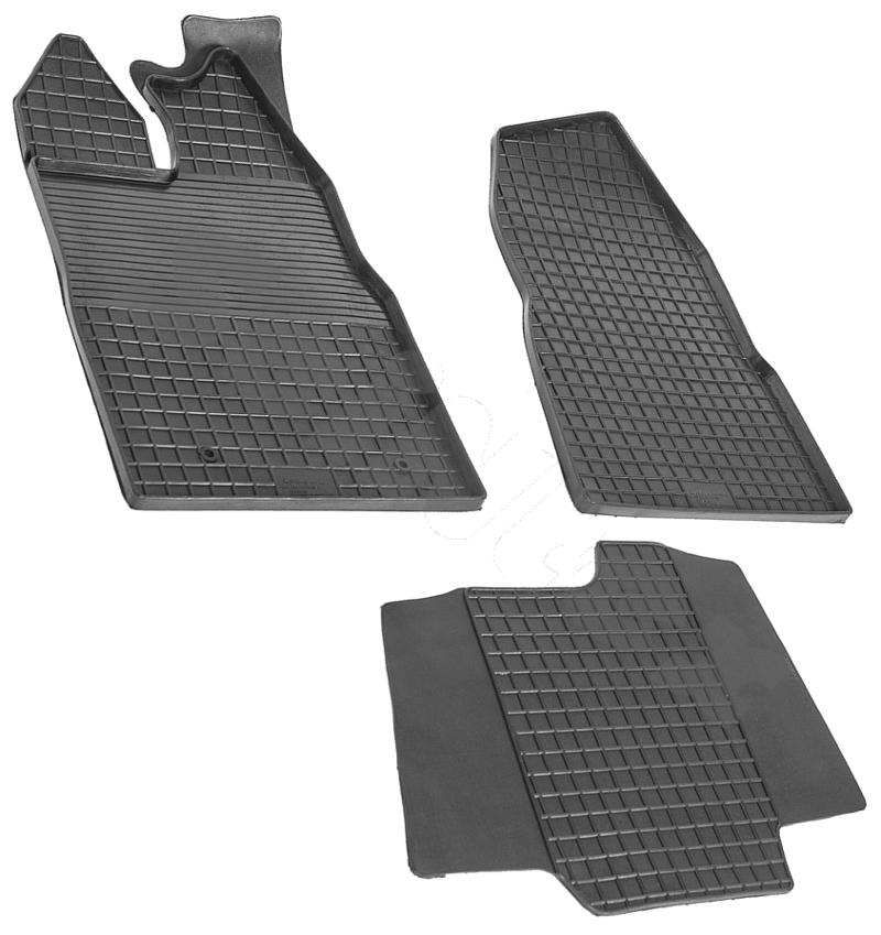 SeinTex 85912 для Ford Transit Custom (2014-н.в.Ford<br>типа сетка - изготовление из специальной резины, не имеют запаха, идеальное повторение контуров салона, морозостойкость, гарантия - 3 года. На данные коврики нанесен узор сетка, который помогает удерживать пыль, грязь, воду. Коврики выполнены из высококачественных материалов, которые обеспечивают высокую износостойкость и долговечность аксессуаров. Содержание синтетического каучука равно 40 процентам, а остальные 60 - это специальные добавки, предназначенные для повышения прочности, эластичности и устойчивости к внешним воздействиям. Использование специальных импортных компонентов позволило избежать наличия неприятного запаха. Материал, из которого изготовлены аксессуары, имеет неоспоримые преимущества перед полиуретаном, который является более бюджетным материалом и резиной, имеющей неприятный запах. Коврики предельно просты в эксплуатации и уходе. Специальный дизайн ковриков позволяет им идеально подходить под контуры пола автомобиля.<br>