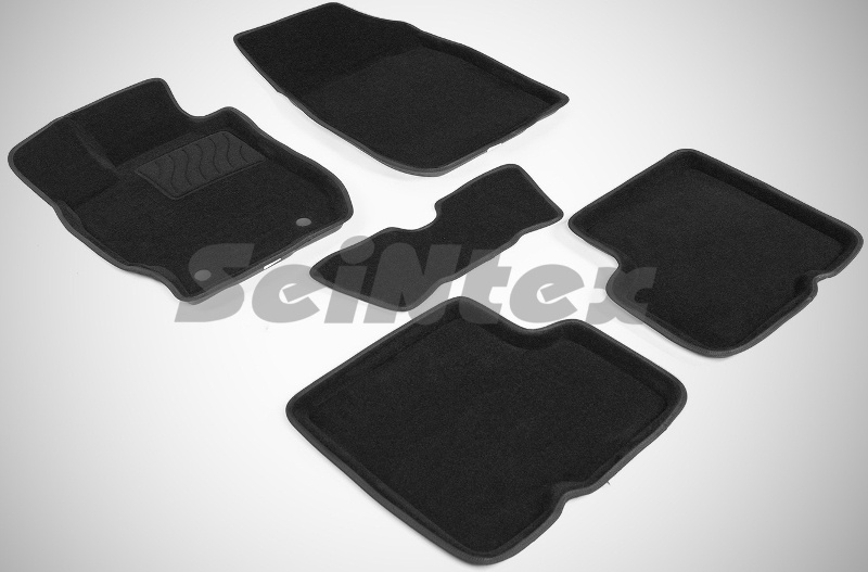 SeinTex 86315 для Nissan Almera Classic B10 (20Nissan<br>06-2012 - трехслойная конструкция, высокая прочность, идеальное повторение контуров салона, износостойкость, премиальный внешний вид. Компания производит автомобильные 3D-коврики, высокая прочность которых достигается за счет трехслойной конструкции. Такой аксессуар имеет вспененную основу, антискользящую пленку и верхнюю часть из ворса. Все используемые материалы прошли ряд тестирований и доказали свою эффективность. Стоит отметить, что данные коврики идеально повторяют контуры салона, поскольку для их изготовления используются лекала для конкретной модели автомобиля. Собственное моделирование выгодно отличает данные коврики от многих китайских аналогов. Коврик, который располагается со стороны водителя, имеет специальное утолщение в области расположения педалей. Данное дополнение позволяет коврику не протираться под ногами водителя.<br>