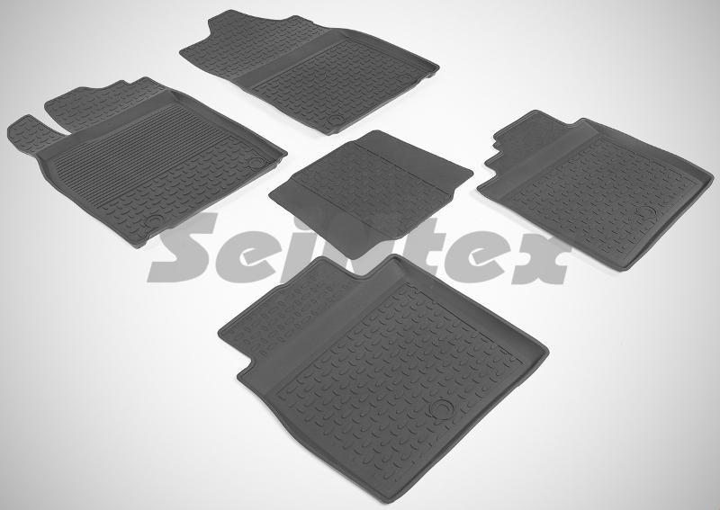 SeinTex 86499 для Lexus ES IV (2012-н.в.)Lexus<br>с высоким бортом - изготовление из специальной резины, не имеют запаха, шипы для надежной фиксации, идеальное повторение контуров салона, гарантия - 3 года. Рассматриваемые нами коврики оснащены высоким бортом, благодаря чему способны удерживать большое количество влаги и загрязнений, не позволяя ей распространяться по напольному покрытию. Отличительная особенность ковриков Seintex - это изготовление из высококачественных материалов, которые отличаются высокой износостойкостью, эластичностью. Кроме этого, данные коврики не имеют запаха и безопасны для аллергиков. Отличное сцепление с поверхностью обеспечивают шипы, расположенные на обратной стороне автоковриков. Высокое качество продукции и уверенность в долгой службе аксессуара компания-производитель подтверждает 3-летней гарантией.<br>