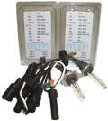 Комплект из двух ксеноновых ламп  MTF Light  с цоколем HB1 9004  6000К