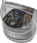 Комплект галогенных ламп MTF Light Argentum H1, 55W, 12V - на 50% больше света!