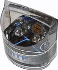 Комплект галогенных ламп MTF Light Argentum H3, 55W, 12V  - на 50% больше света!