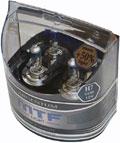 Комплект галогенных ламп MTF Light Argentum H7, 55W, 12V  - на 50% больше света!