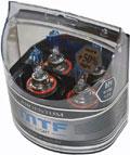 Комплект галогенных ламп MTF Light Argentum H9, 55W, 12V - на 50% больше света!