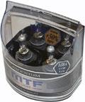 Комплект галогенных ламп MTF Light Argentum HB4, 55W, 12V  - на 50% больше света!