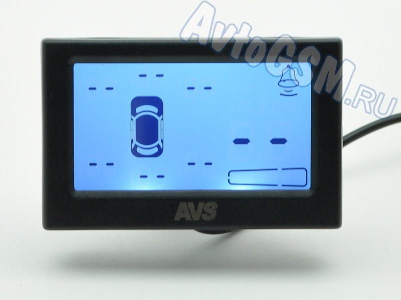 AVS PS-528UПарктроники для заднего и переднего бампера<br>8 черных датчиков -  LCD-дисплей 2.4 дюйма, 8 ультразвуковых датчиков, быстрый отклик, диаметр установочного отверстия - 22.5 мм, звуковое оповещение, водонепроницаемый коннектор Внимание!!!! Распродажа. AVS Security PS-528U можно по праву назвать парковочной системой, поскольку она имеет в своем комплекте 8 датчиков для инсталляции на передний и задний бампера. Таким образом, Вы сможете контролировать пространство не только позади, но и перед транспортным средством. Помимо датчиков в систему входят блок управления, дисплей и необходимые для монтажа элементы. Несомненно, отдельного внимания требует индикатор рассматриваемой парковочной системы. Он оснащен LCD-дисплеем, на котором отображается информация в максимально удобном формате. На экран будет выведена информация о расстоянии до ближайшего препятствия, а также место его расположения относительно автомобиля.<br>
