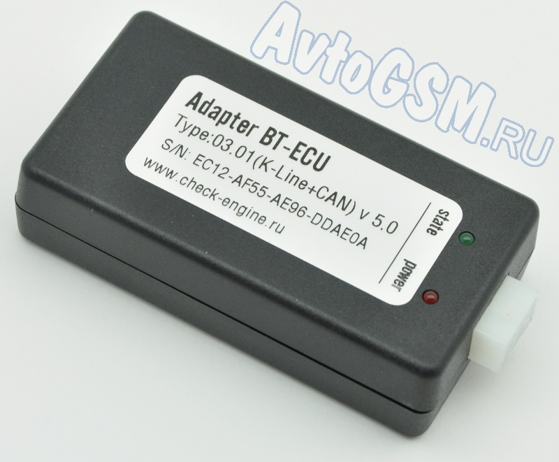 Check-Engine BT-ECU K-Line+CAN от AvtoGSM.ru