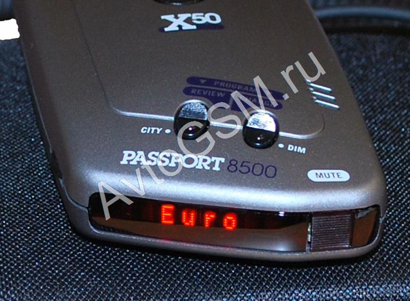 Escort passport 8500 x50 euromp4
