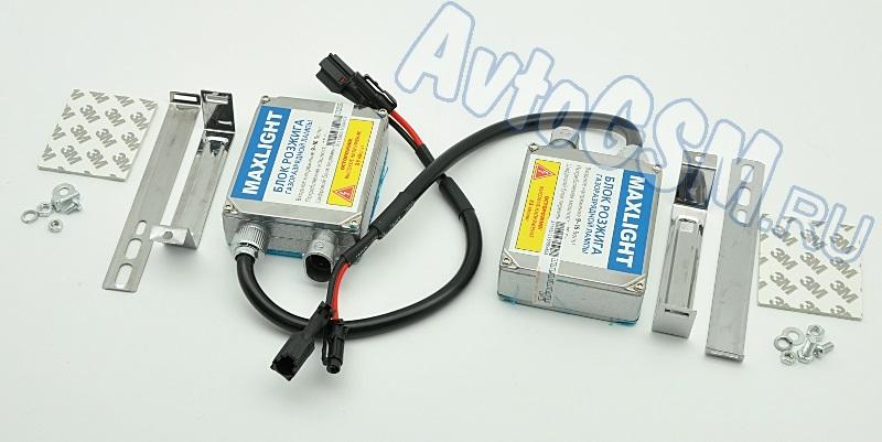 MaxLight HB4 (9006) 5000K9006 HB4<br>- холодный белый свет, вибрационная стойкость, экономичность в эксплуатации, энергоэффективность, надежная электроизоляция, защита от скачков напряжения и короткого замыкания, плавный розжиг ламп, широкий диапазон рабочих температур. Ксеноновые системы освещения автомобиля хорошо подойдут для эксплуатации на бездорожье. Такое оборудование ярко освещает пространство впереди транспортного средства, позволяя видеть на пути практически все неровности дорожного полотна. Для обеспечения комфортного управления машиной в указанных условиях Вы сможете воспользоваться ксеноном Maxlight HB4 (9006) 5000K.<br>