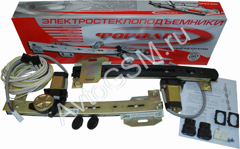 Фото №6 - ВАЗ 2110 установка стеклоподъемников