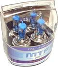 Комплект галогенных ламп MTF Light Palladium H4 100/90W