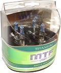 Комплект галогенных ламп MTF Light Titanium H1 55W