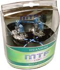 Комплект галогенных ламп MTF Light Titanium H3 55W