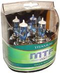 Комплект галогенных ламп MTF Light Titanium H4 100/90W