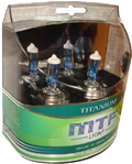 Комплект галогенных ламп MTF Light Titanium H7 55W