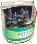 Комплект галогенных ламп MTF Light Titanium HB3 65W