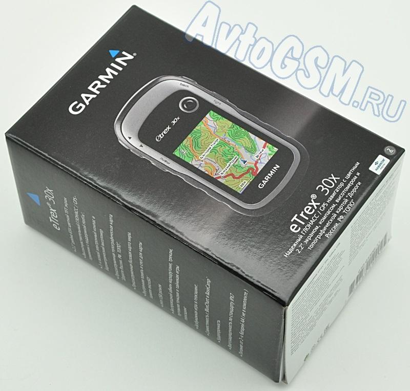 Garmin eTrex 30X GPS от AvtoGSM.ru