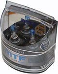 Комплект галогенных ламп MTF Light Argentum HB3, 65W, 12V  - на 50% больше света!