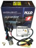 Мотоксенон Infolight 50W H4 5000K на ближний свет, без дальнего