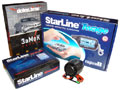 Антикризисный противоугонный комплект Starline GSM-Автозапуск (Starline B9, GSM-модуль Starline Messenger, замок капота Defen Time, сирена DS-530) (АКЦИЯ!!!)