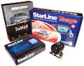 Антикризисный противоугонный комплект Starline GSM (Starline B6, Starline Messenger, замок капота Defen Time, сирена DS-530) (Внимание!!!! Суперцена!)