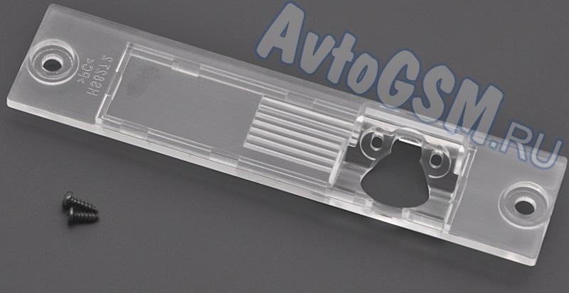 SPARK JAC8Комплектующие к камерам заднего вида<br>на автомобиль JAC Wyatt RS 2012 для камеры заднего вида Спарк Spark тип A, В, С, D  Внимание!!!! Распродажа. Данное пластиковое крепление поможет без затруднений инсталлировать камеру заднего обзора Спарк различных типов (A, B, C, D), заменив ею плафон подсветки заднего номера в автомобиле JAC Wyatt RS 2012.<br>