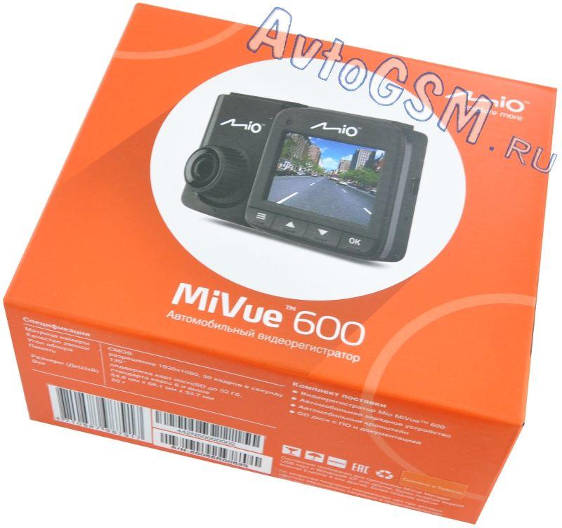 Mio MiVue 600 черный от AvtoGSM.ru