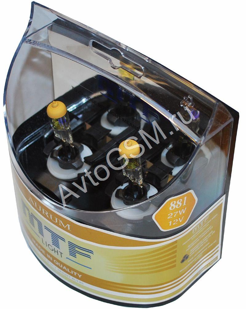 MTF Light Aurum 881 / H27, 27W, 12V от AvtoGSM.ru