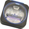 Комплект галогенных ламп MTF Light Palladium H27/881, 27W, 12V