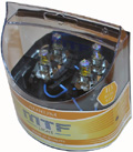 Комплект галогенных ламп MTF Light Aurum H3, 55W, 12V