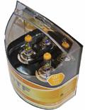 Комплект галогенных ламп MTF Light Aurum H7, 55W, 12V