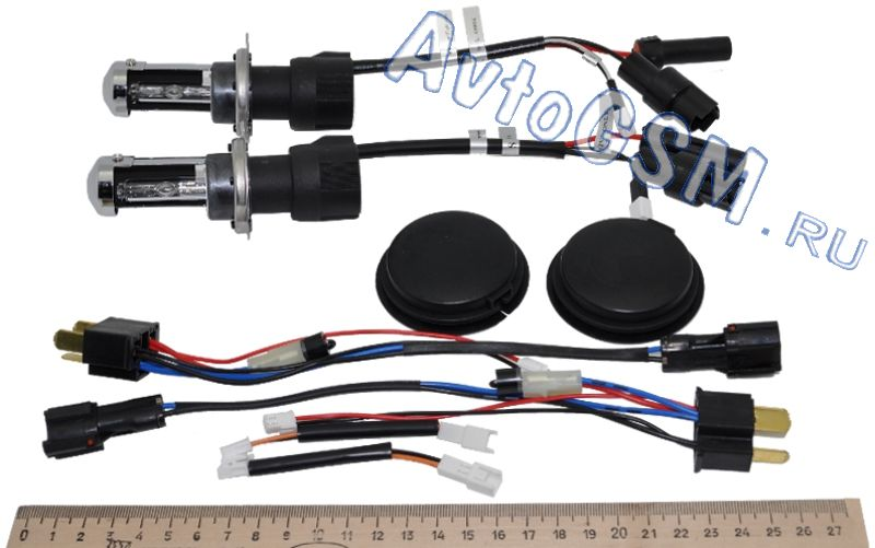 MTF Light Комплект ламп для Биксенона H4 6000K от AvtoGSM.ru