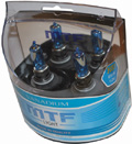 Комплект галогенных ламп MTF Light Vanadium HB3, 65W, 12V
