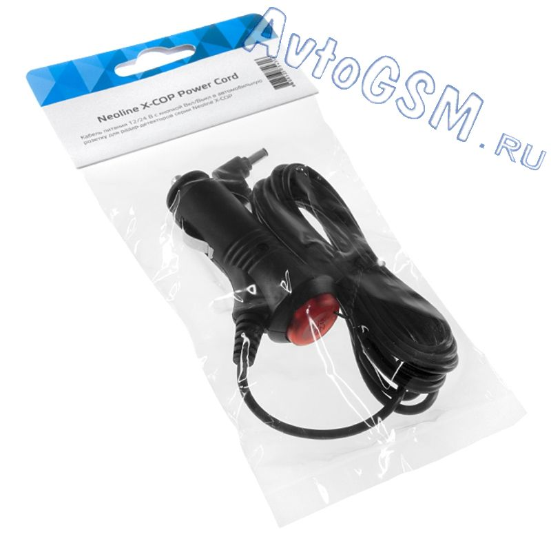 Neoline X-COP Power Cord от AvtoGSM.ru