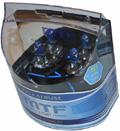 Комплект галогенных ламп MTF Light Palladium H3, 55W, 12V